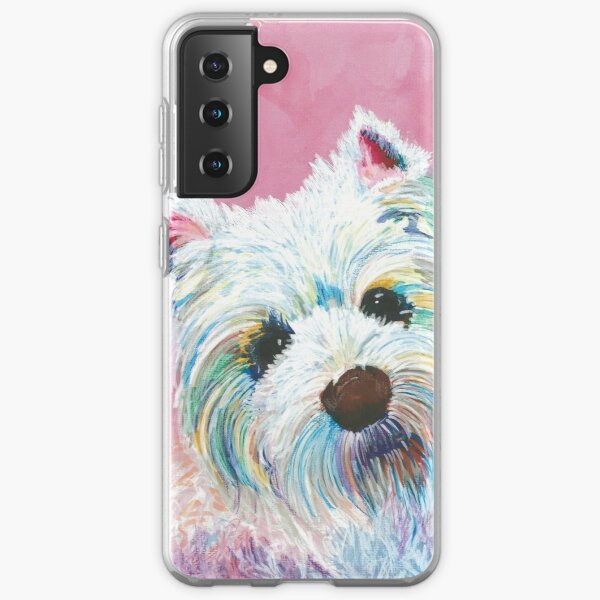 West highland terrier love Samsung Galaxy Soft Case