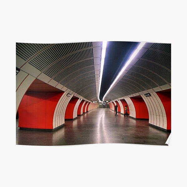 Vienna Underground Poster
