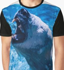 Polar bear in water Graphic T-Shirt