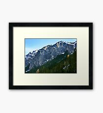 Yosemite Mountainside Framed Print