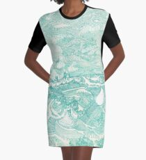 Life and Death Graphic T-Shirt Dress