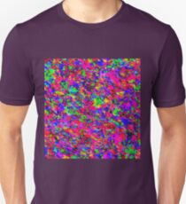 Abstract pattern in impressionism style.  Unisex T-Shirt