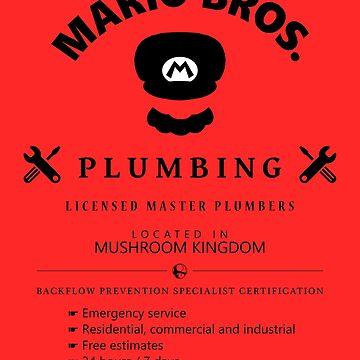 Mario Bros. Plumbing Service by Fiele