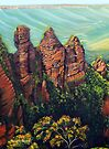 Three Sisters, Blue Mountains by Linda Callaghan