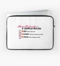 Mama Umbridge's Three Simple Rules Laptop Sleeve