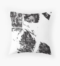 Ink Smudge Throw Pillow