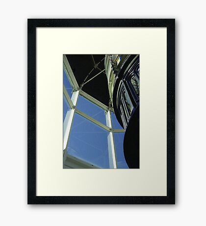At the top Framed Print