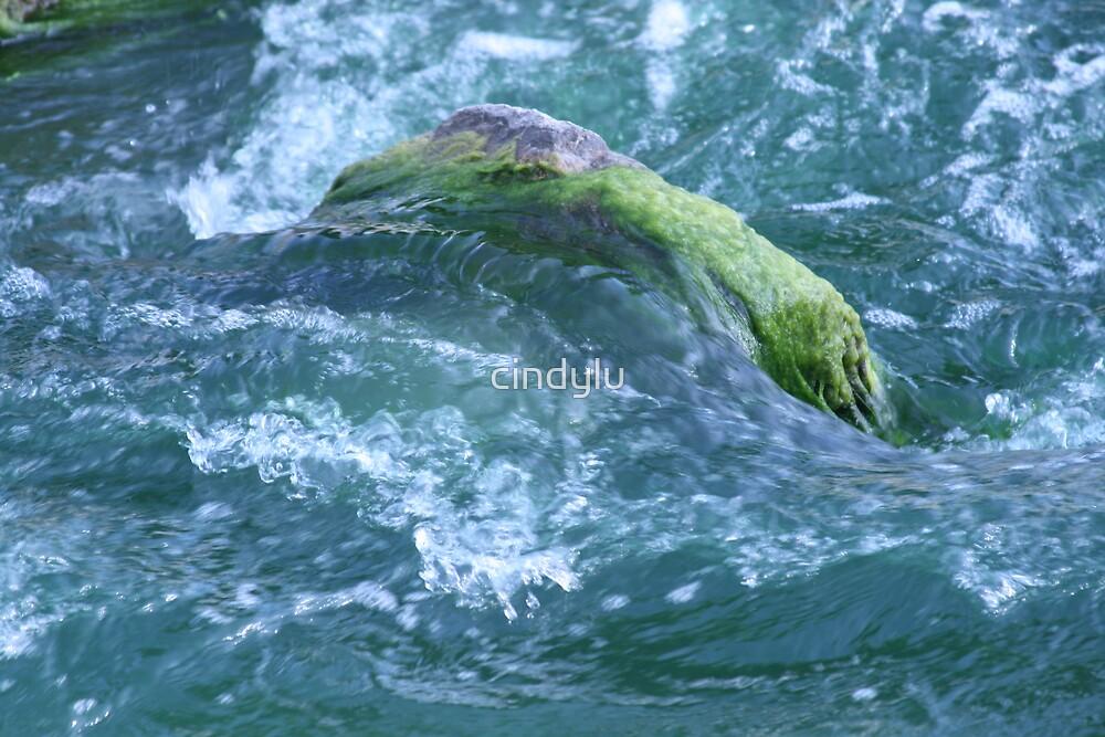rushing water by cindylu