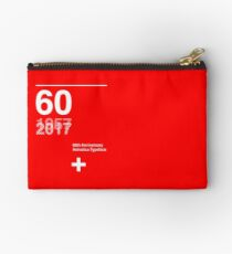 60th Anniversary  Helvetica Typeface Studio Pouch
