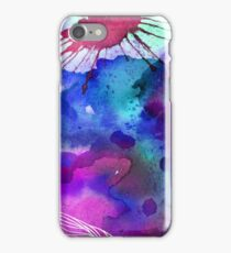 Abstract Watercolour Flourish iPhone Case/Skin