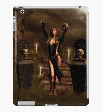 The dark fairy   iPad Case/Skin