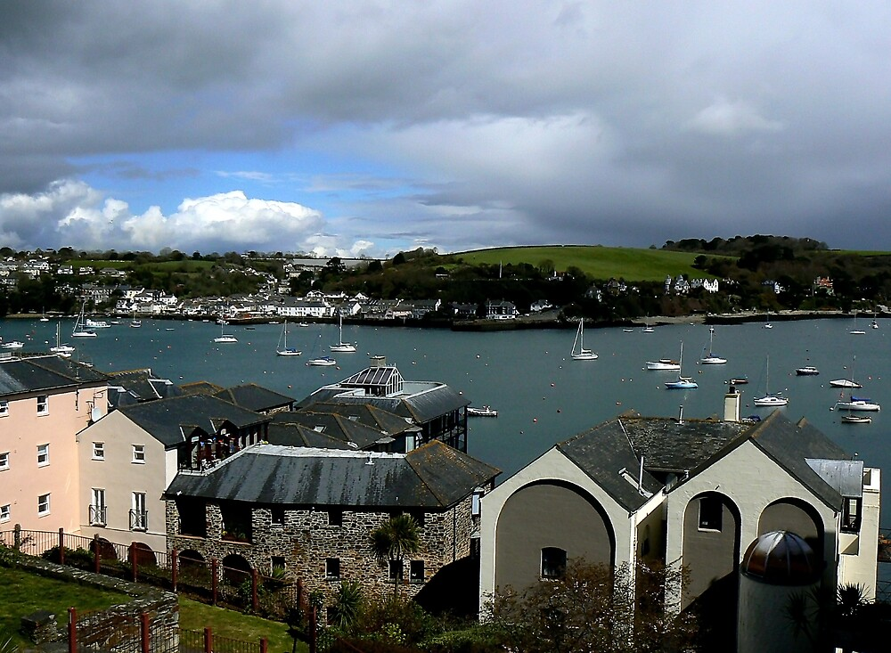 Falmouth Harbour. South-West Cornwall. by mariarty