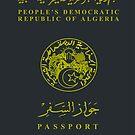 Algerian Passport - Clothing Design by Omar Dakhane