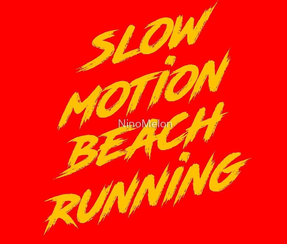 Beach Running by NinoMelon