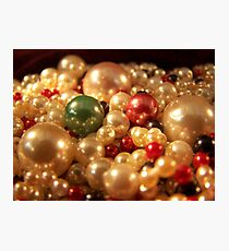 Precious Pearls Photographic Print