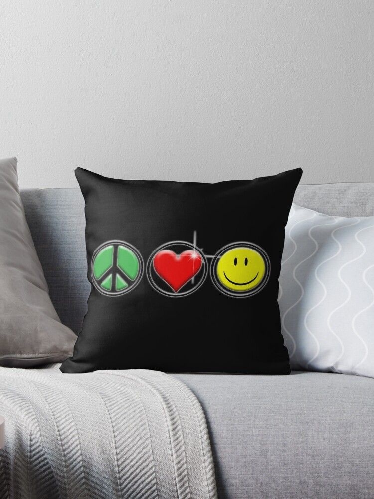 Peace Love Happiness by Cliff Vestergaard