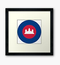 Royal Cambodian Air Force Roundel Framed Print
