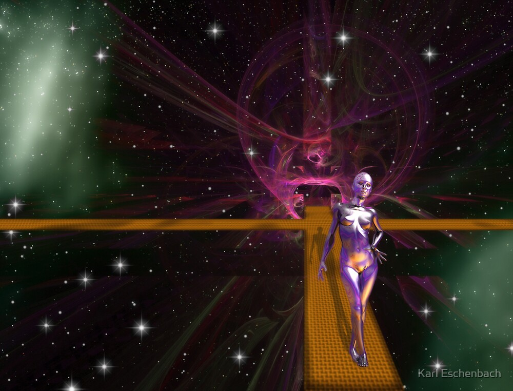 Space Time 067 by Karl Eschenbach