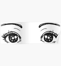 animated eyes blink Poster