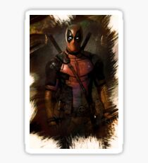 DEADPOOL Ryan Reynolds Sticker