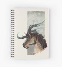 Kirin Bust Spiral Notebook