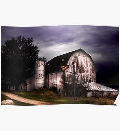 The White Barn Poster