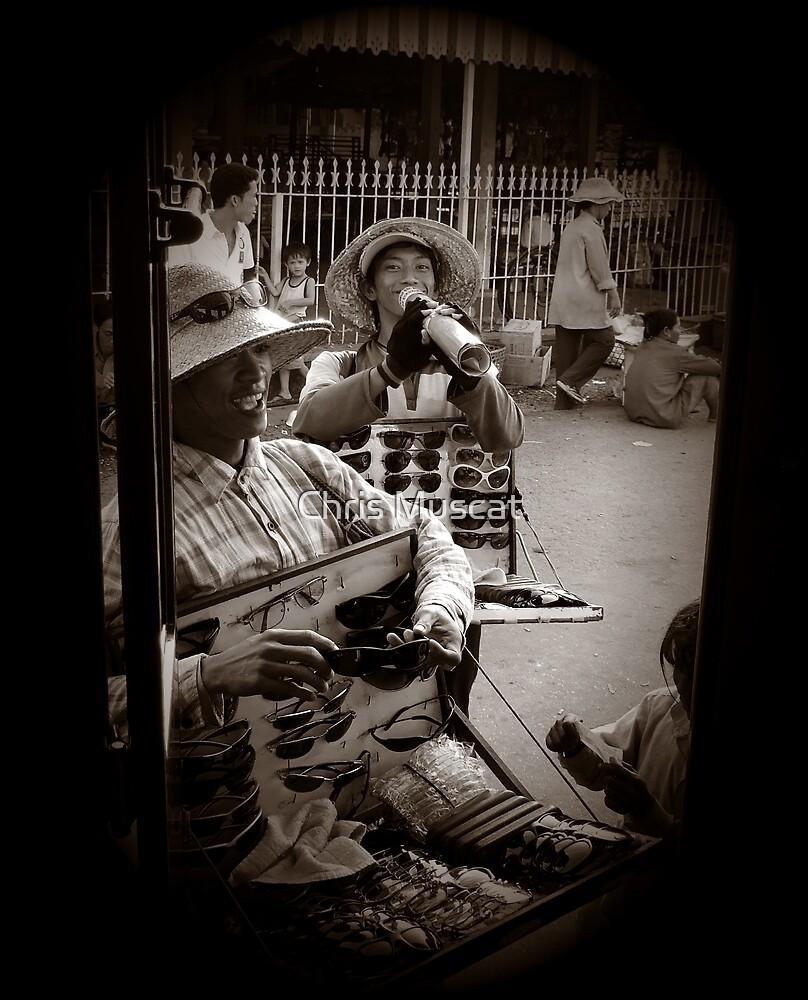 Chau Doc Cambodia by Chris Muscat