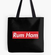 Rum Ham Red Merchandise Tote Bag