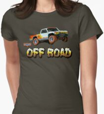 Super Off Road Womens Fitted T-Shirt
