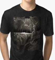 Bible New Testament Gustave Dore or Doré Nwe jeruzalem Tri-blend T-Shirt