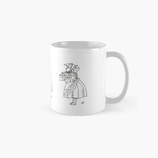 Little bonnet girl Classic Mug