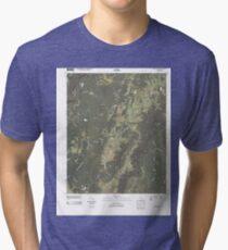 USGS TOPO Map Georgia GA Cedar Grove 20110225 TM Tri-blend T-Shirt