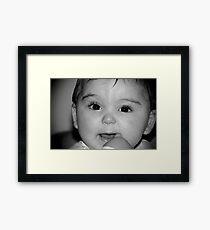 Little Doll Framed Print