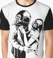 Banksy - Think tank Graphic T-Shirt