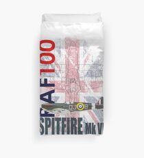 RAF 100 Years - Spitfire Mk Vb Duvet Cover