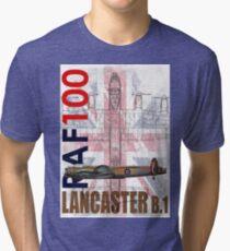 RAF 100 Years - Lancaster B.1 Tri-blend T-Shirt