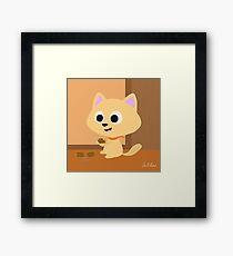 Tinker the cat Framed Print