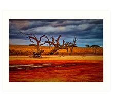 """Rusty Lakebed"" Art Print"