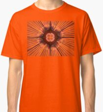 Orange Purple Flora Classic T-Shirt