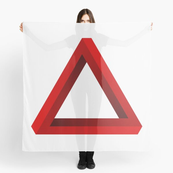 Impossible Penrose Triangle Scarf