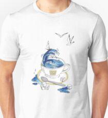 a tea Cup with sea inside T-Shirt