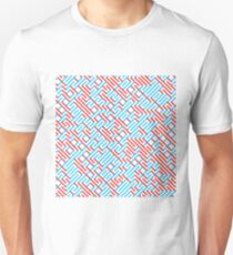 Impossible Red/Blue Maze T-Shirt