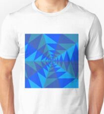Blue/Green Concentric Tiling T-Shirt