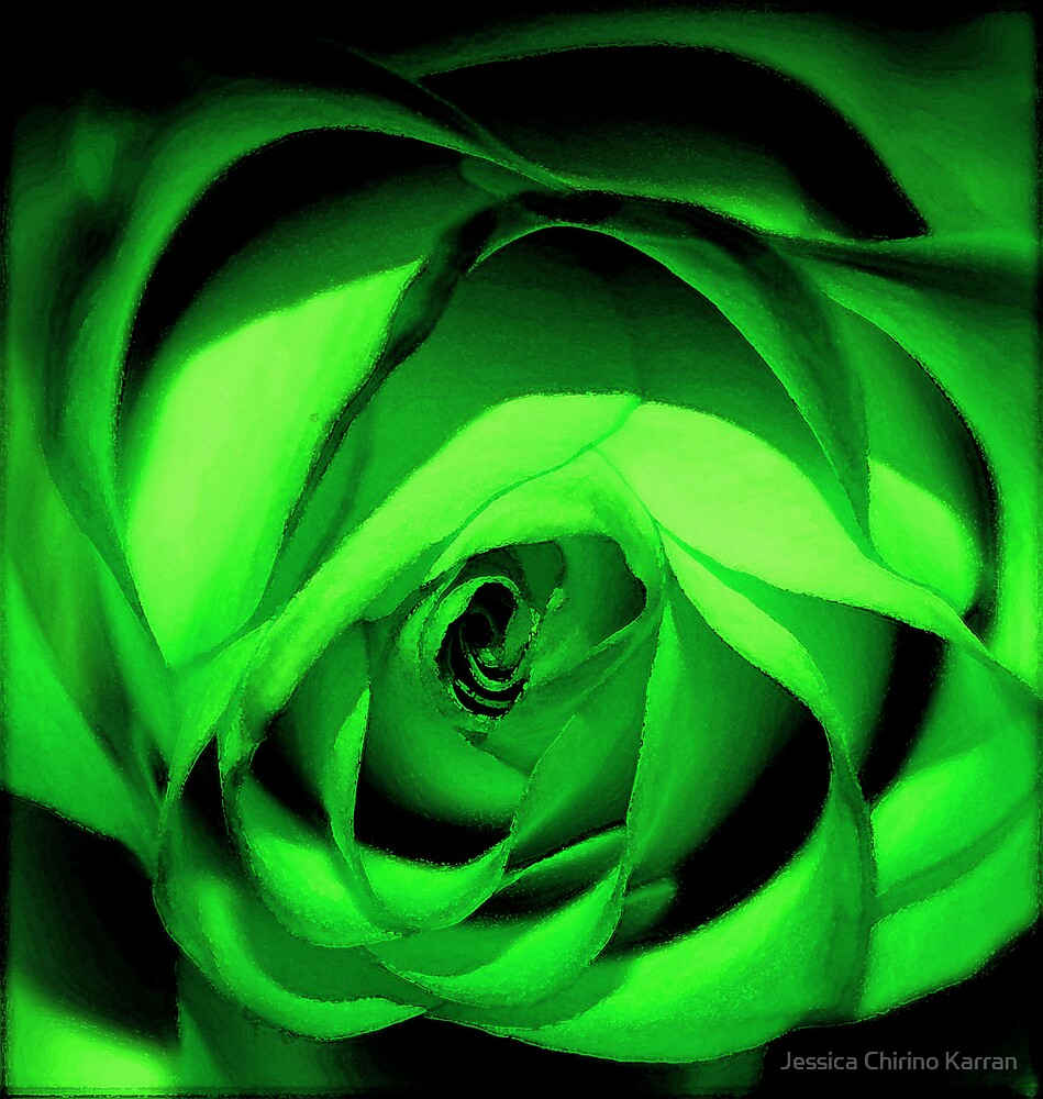 green  by Jessica Chirino Karran