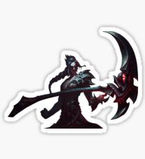 league kayn Sticker