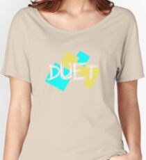 Duet Typography Women's Relaxed Fit T-Shirt