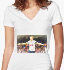 Harry Kane Women's Fitted V-Neck T-Shirt