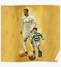 Ronaldo Childhood Poster