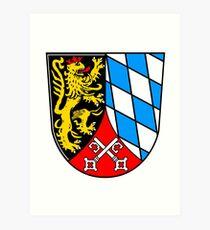 Oberpfalz Coat of arms Art Print