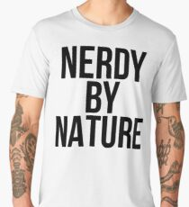NERDY BY NATURE Men's Premium T-Shirt